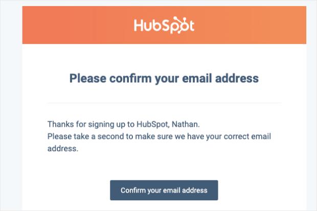 Hubspot transactional email min