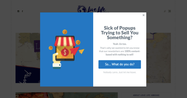 Lightbox Popup for Shopify example