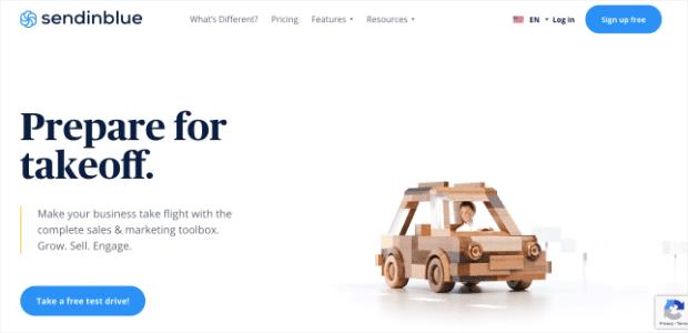 Sendinblue homepage min