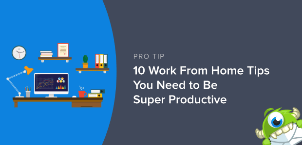Tips to work from home featured image