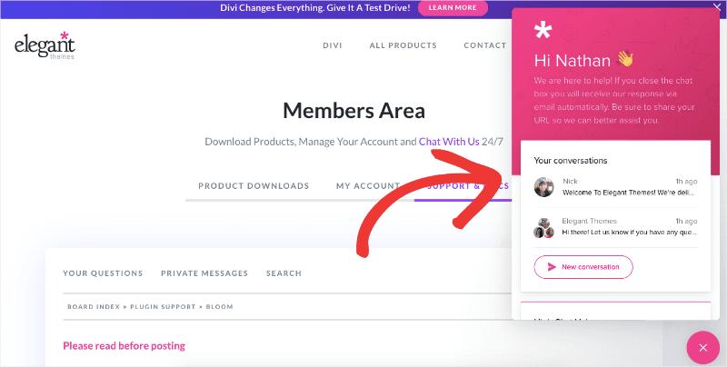 Bloom Live Chat min 1