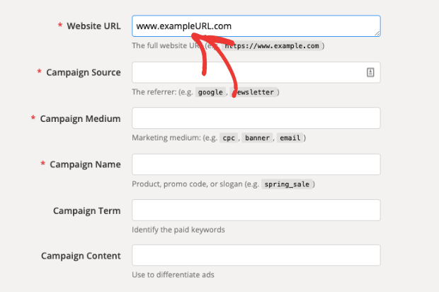Campaign Builder URL for UTM Parameters min