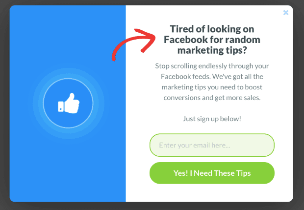 Facebook personalization for UTM article min