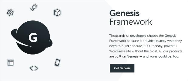 Genesis Framework Sales Page