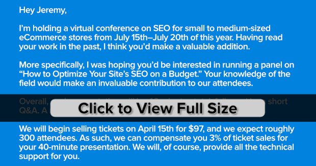 Good Template for Guest Speakers to host a virtual conference