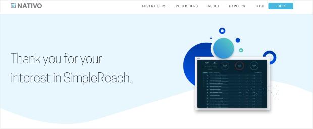Nativo homepage