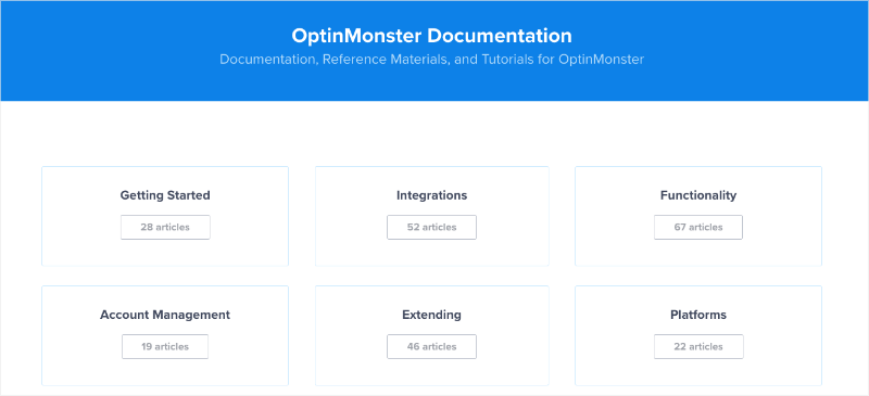 OptinMonser Documentation