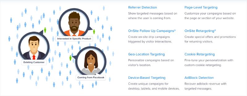 OptinMonster Targeting Options 2