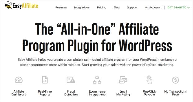easy affiliate homepage