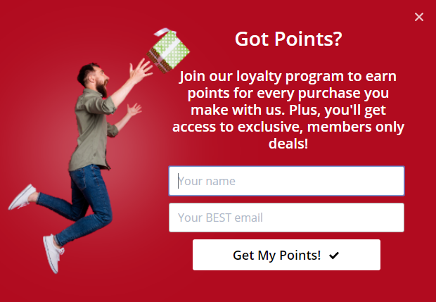 make money with optinmonster by promoting your loyalty program