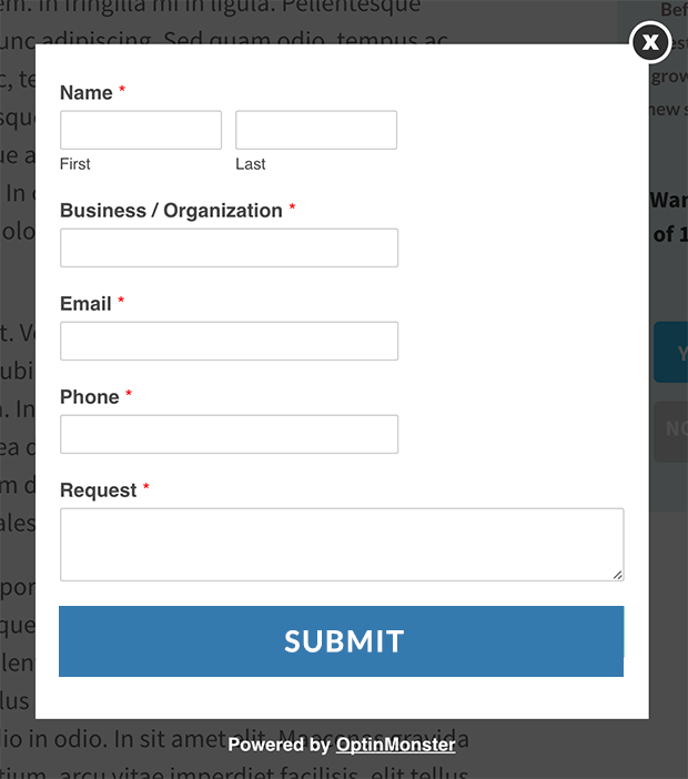 add a form using wpforms