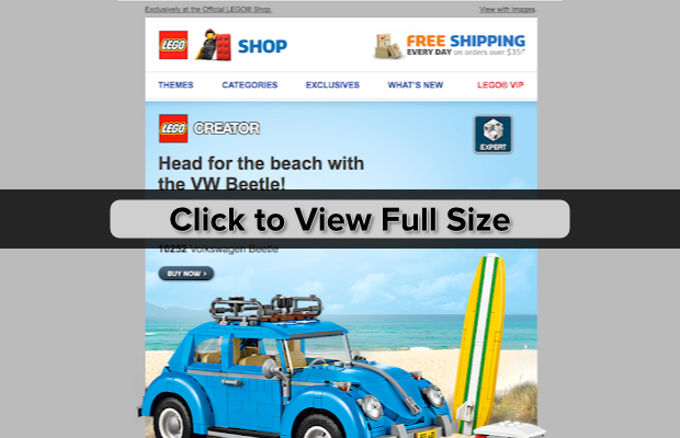 lego email example