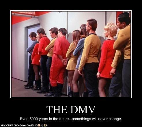 the dmv line funny meme for reducing customer churn