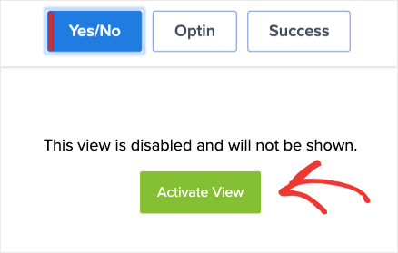Active View for your Yes_No campaign