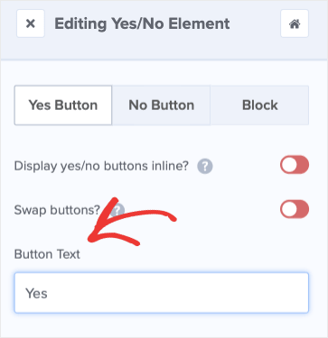 Change Yes Button Text for Age Verification Popup