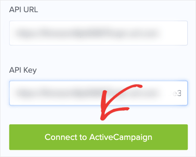 Connect to ActiveCampaign