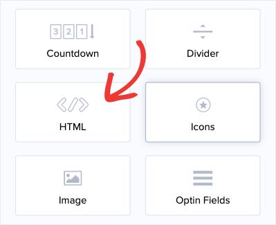 Find HTML Block