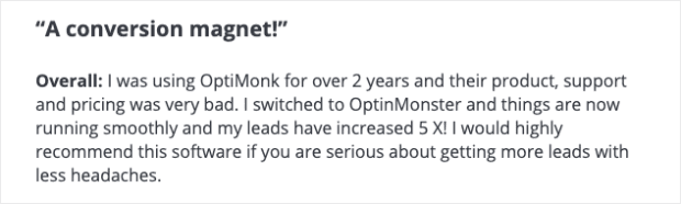 Is OptinMonster worth it User review 3
