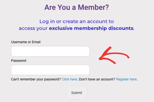 WooCommerce Login Popup after CSS with universal font