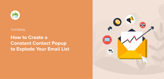 Constant Contact popup for WordPress featured image-min