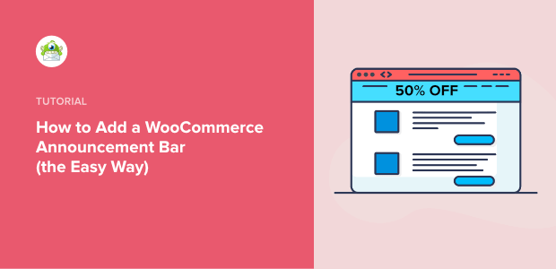 WooCommerce Announcement Bar - Featured image