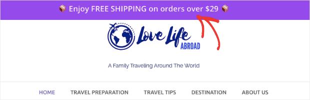 Free shipping bar demo NO button min