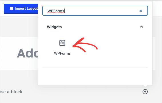WPForms Widget min