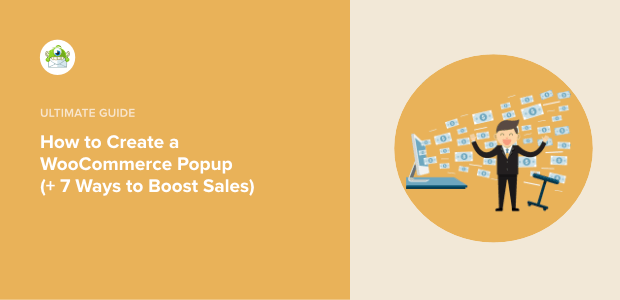 Create a WooCommerce popup Featured image