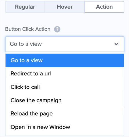 Edit Button Actions for multi-step campaign