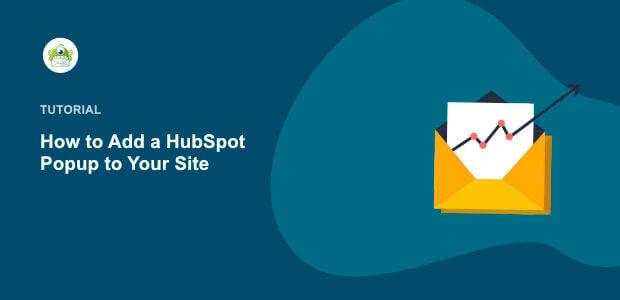 Featured Image HubSpot Popup