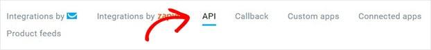 Getresponse API select