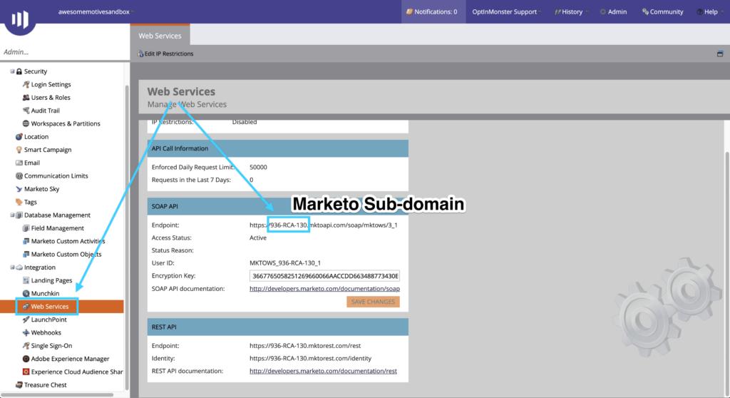 Marketo Sub-domain