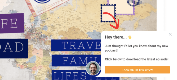 Podcast welcome message