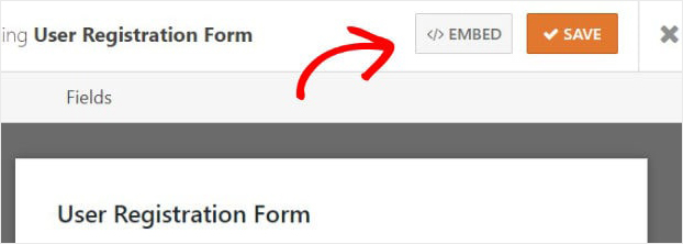 WPForms Save User Registration Form WordPress
