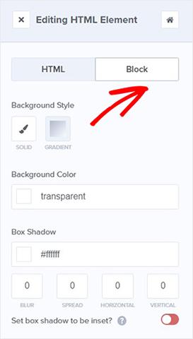 choose html block_