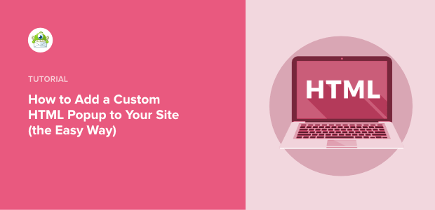 custom HTML Popup featured image