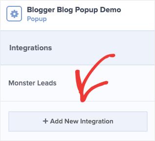 Ajouter un nouveau blog de blogueurs sur l'intégration