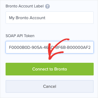 Connect to Bronto