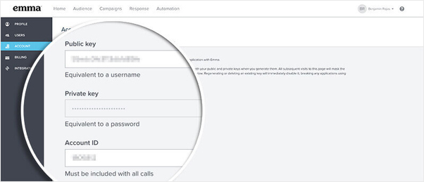 Emma Select API Key