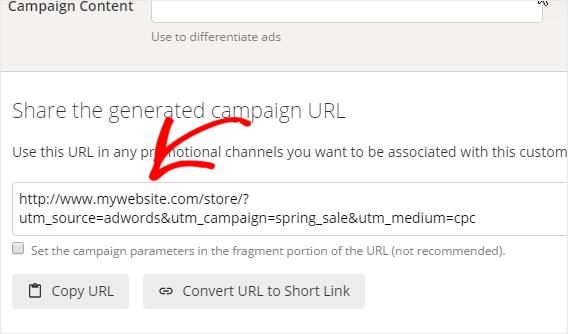 Google UTM Parameter