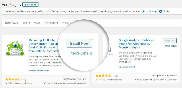 Install OptinMonster WordPress Plugin