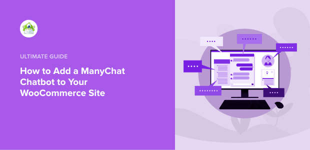 ManyChat chatbot to WooCommerce Featured Image