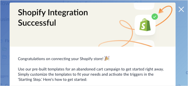 Shopify Integration Successful