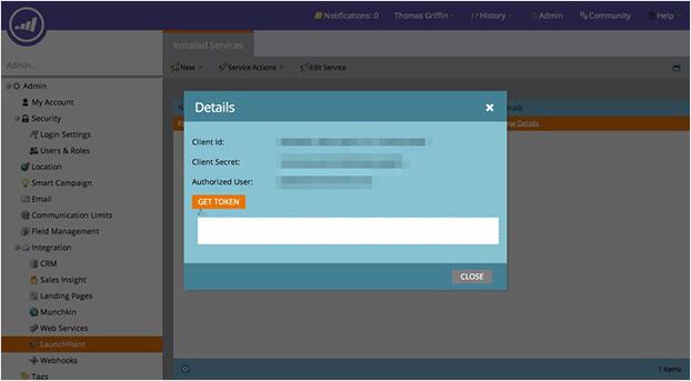 marketo integration api details