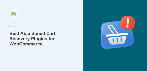 Featured image Abandoned Cart Recovery plugins for WooCommerce