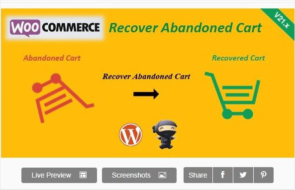 WooCommerce Recover Abandoned Cart_