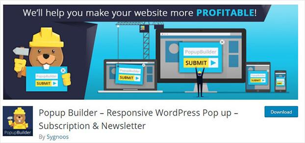 WordPress popup builder_