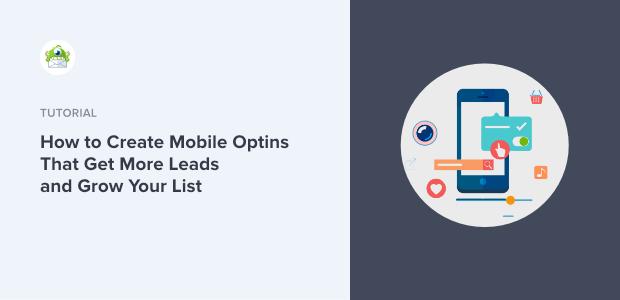 Create Mobile Optins featured image