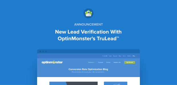 New Lead Verification Announcement Featured Image