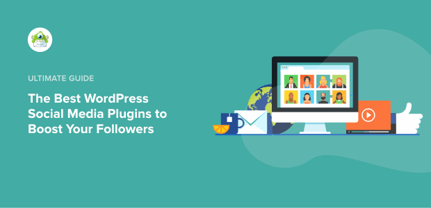 Best wordpress social media plugins featured image